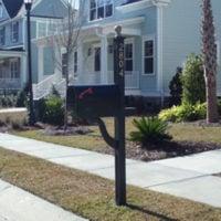 Egret's Walk: Mailbox and Post