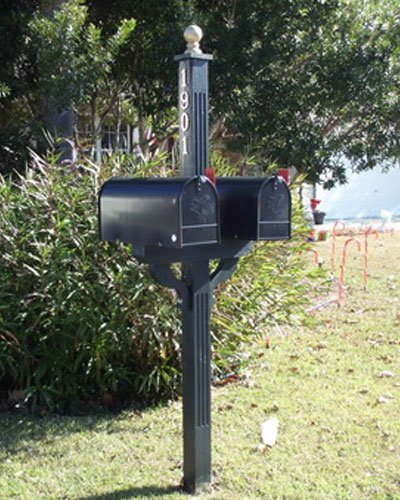 Marsh Landing: 2 Mailboxes and Post