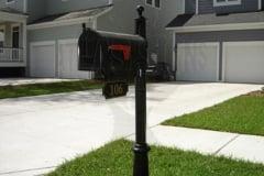 w-the bluffs mailbox